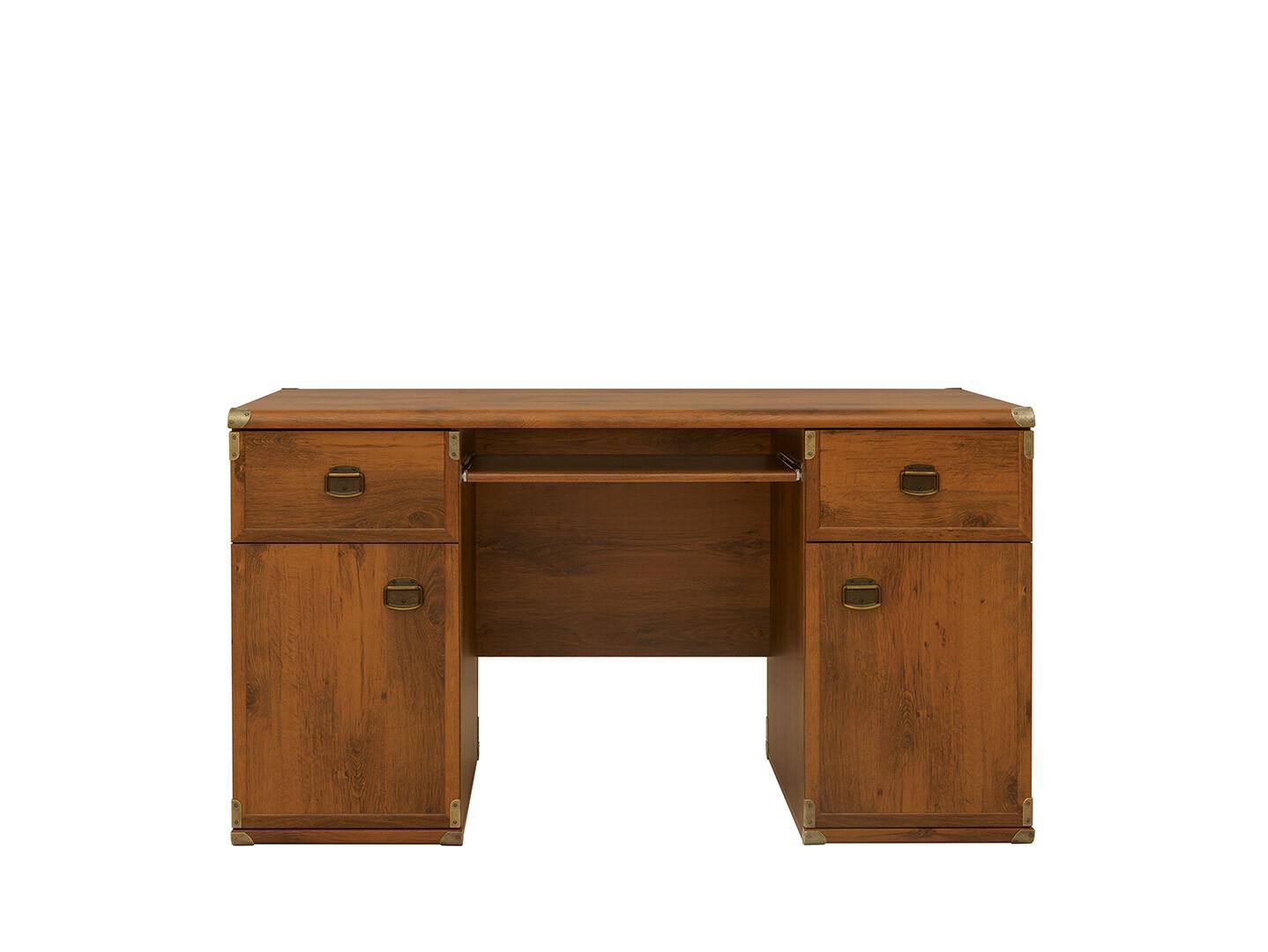 Kancelársky stôl INDIANA JBIU 2D2S dub sutter