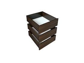 Doplnok: Zásuvka k skrini DUEL 3D