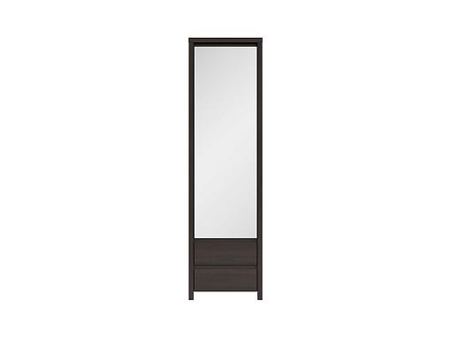 Skriňa so zrkadlom SZF1D2SP Wenge/Wenge