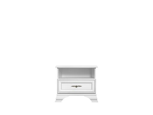Nočný stolík Idento KOM1S biela