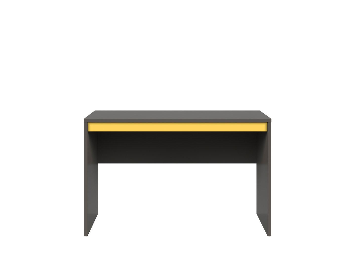 Kancelársky stôl GRAPHIC BIU/120 sivý wolfram