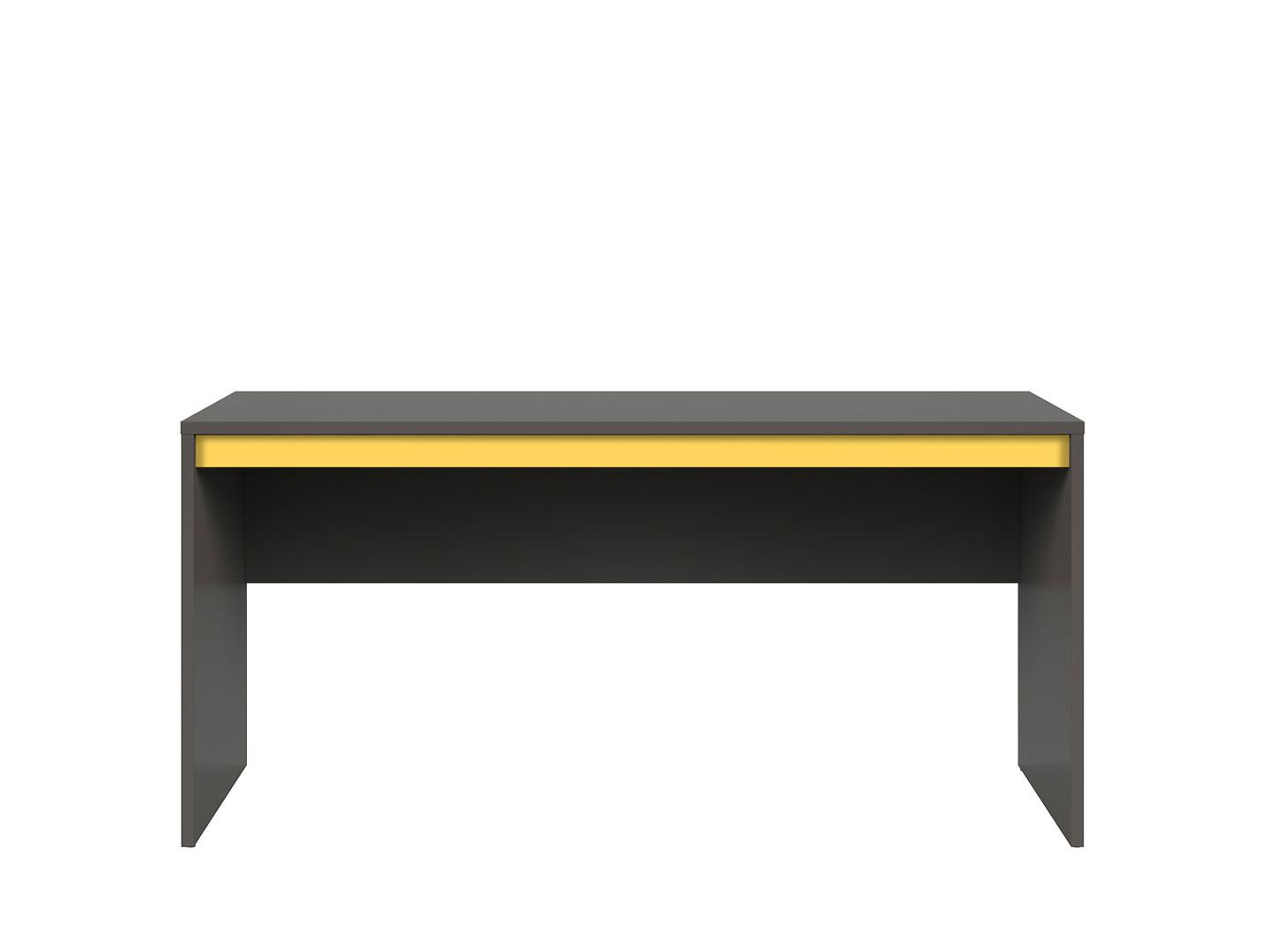 Kancelársky stôl GRAPHIC BIU/160 sivý wolfram