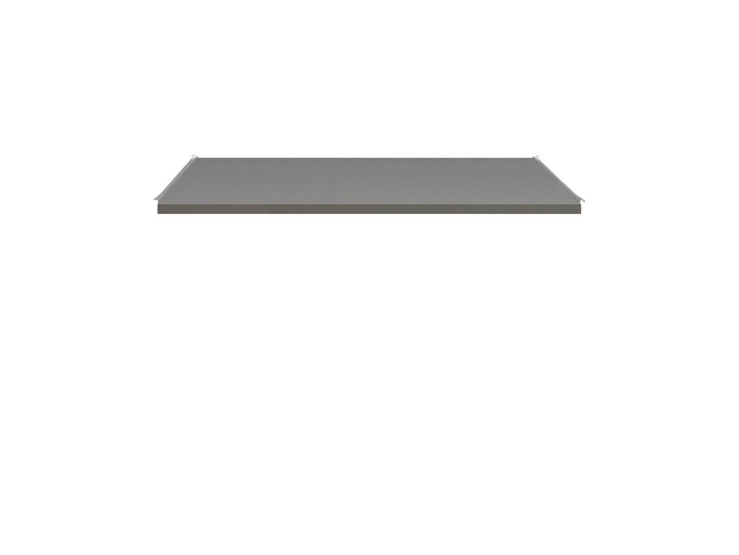 Polica pod klávesnicu k písaciemu stolu GRAPHIC BIU1D1SL/A_OPCJA sivý wolfram