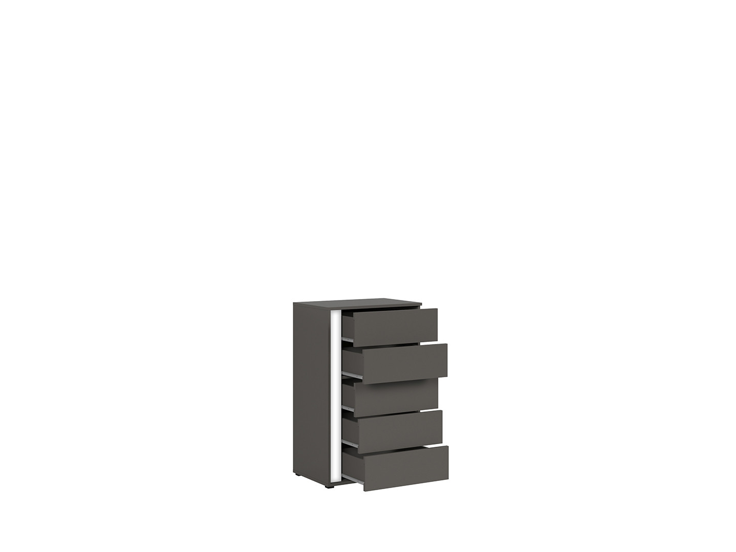 Komoda GRAPHIC KOM5SP/C sivý wolfram