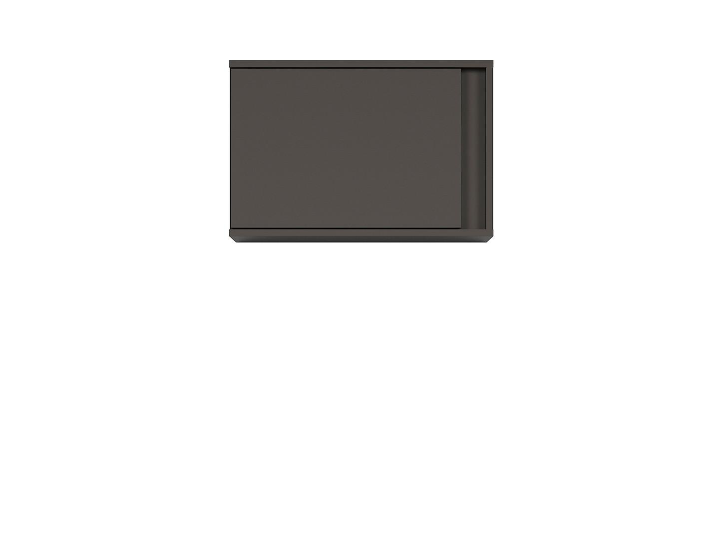 Závesná skrinka GRAPHIC SFW1DL/C sivý wolfram