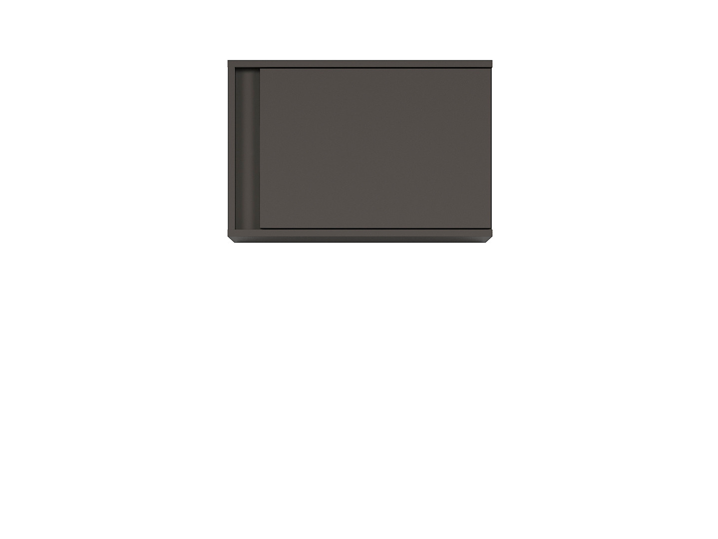 Závesná skrinka GRAPHIC SFW1DP/C sivý wolfram