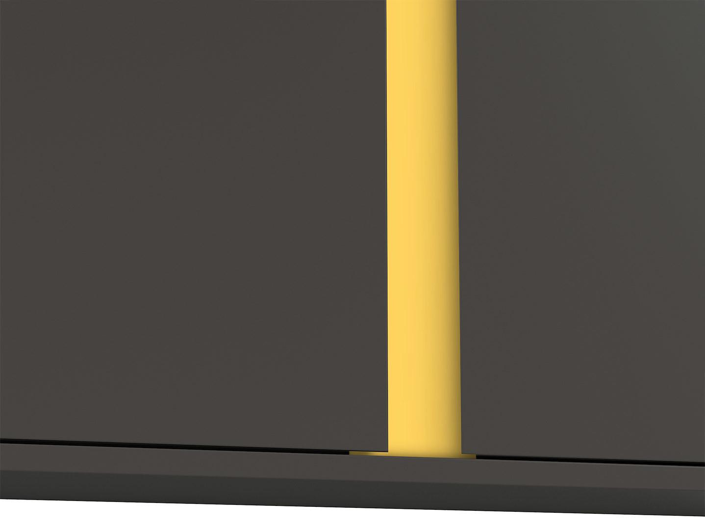 Skrinka GRAPHIC SFW2D/86/38/C sivý wolfram