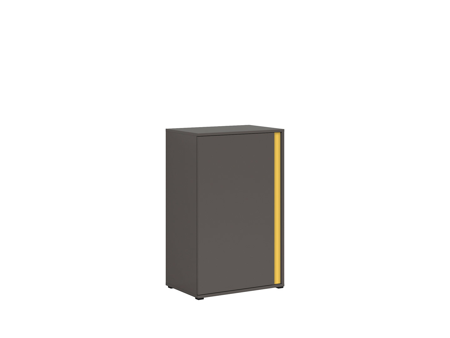 Skrinka GRAPHIC KOM1DL/C sivý wolfram