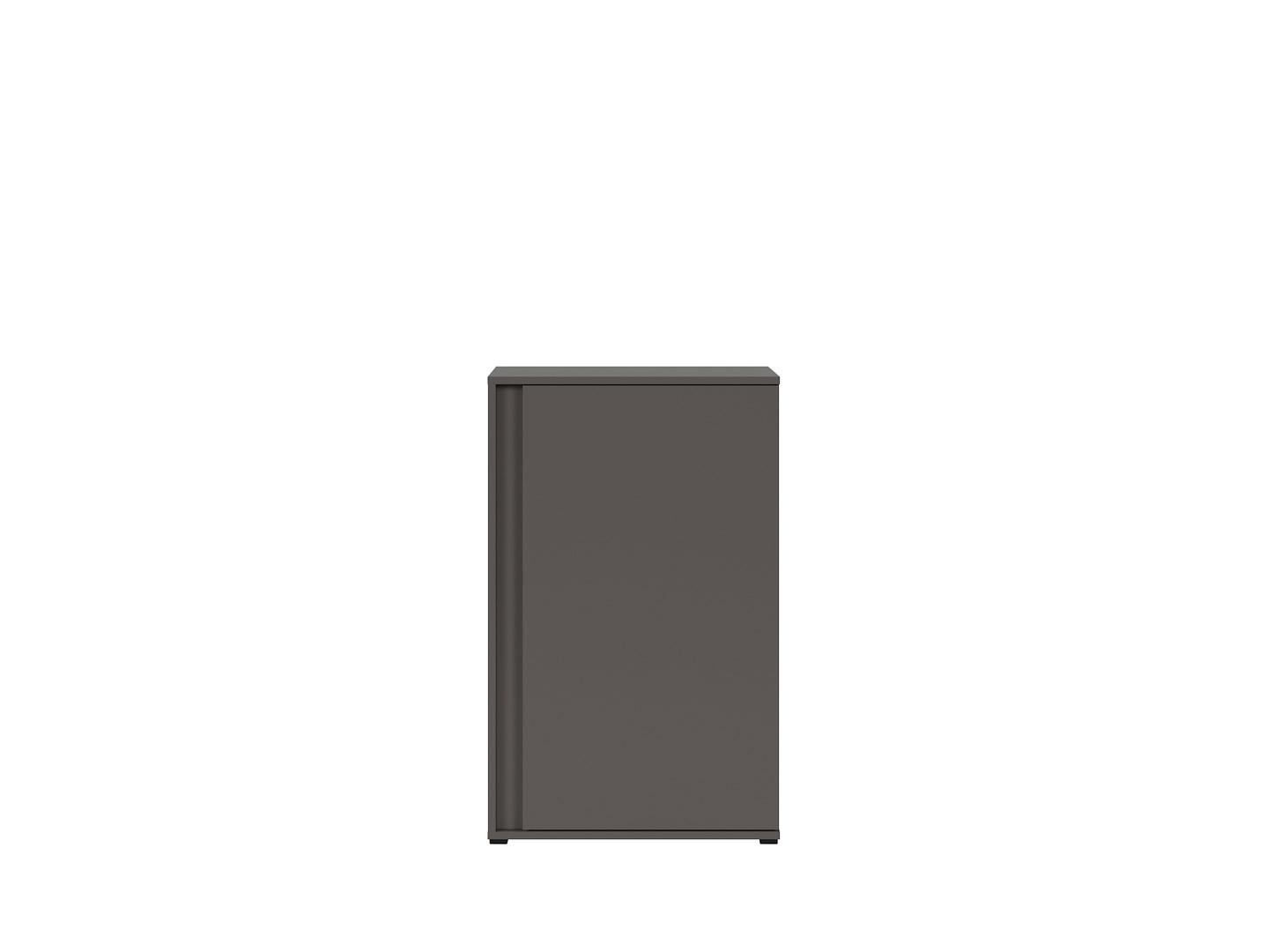 Skrinka GRAPHIC KOM1DP/C sivý wolfram