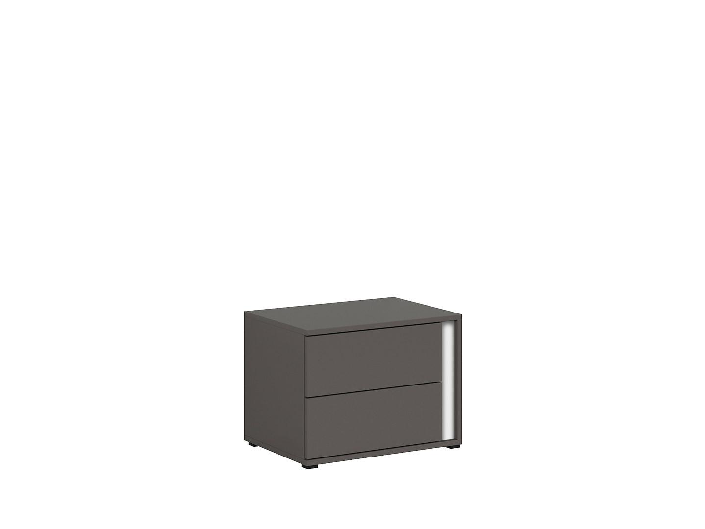 Nočný stolík GRAPHIC KOM2SL/C sivý wolfram