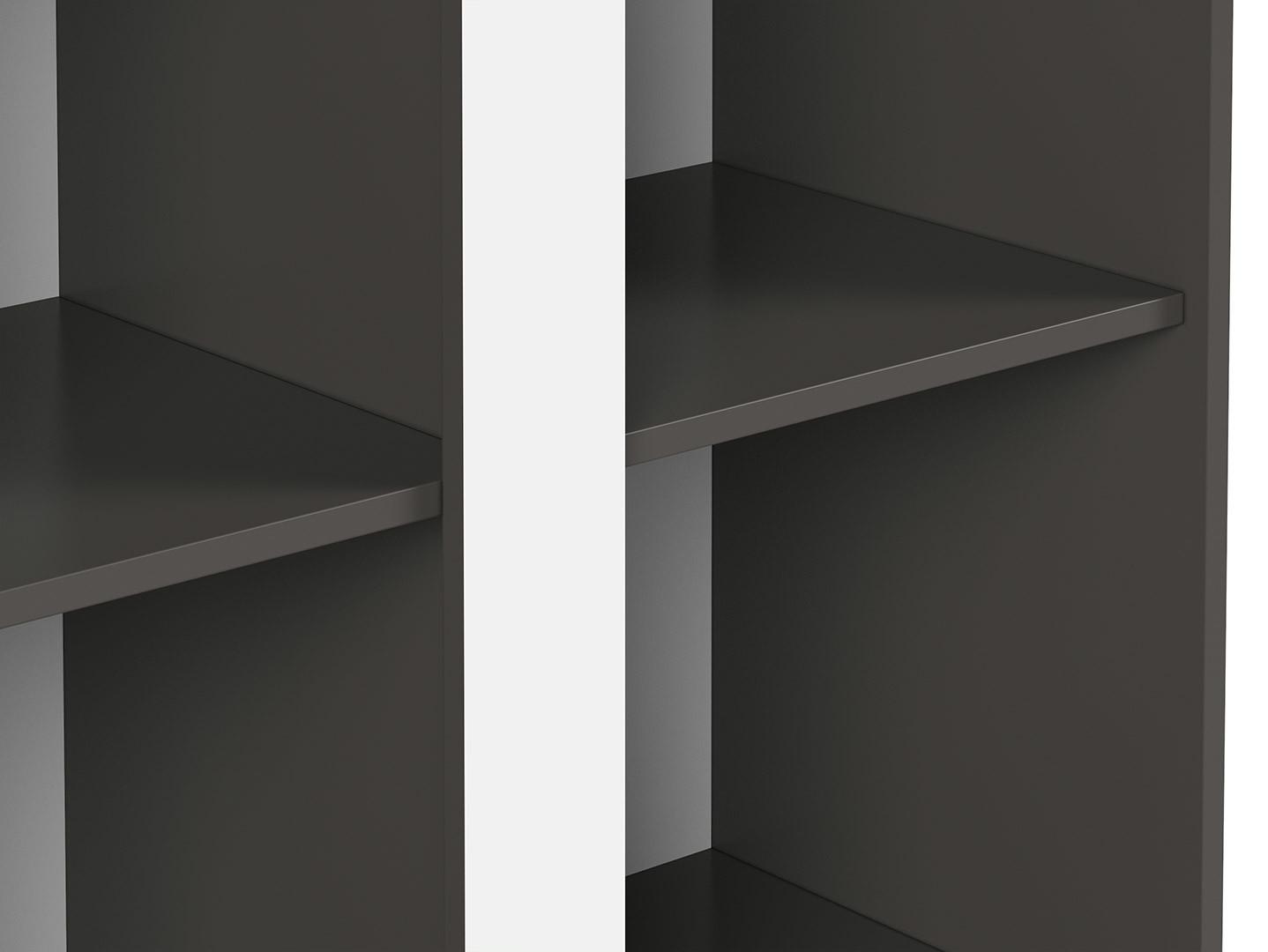Skriňa GRAPHIC REG2D/86/C sivý wolfram