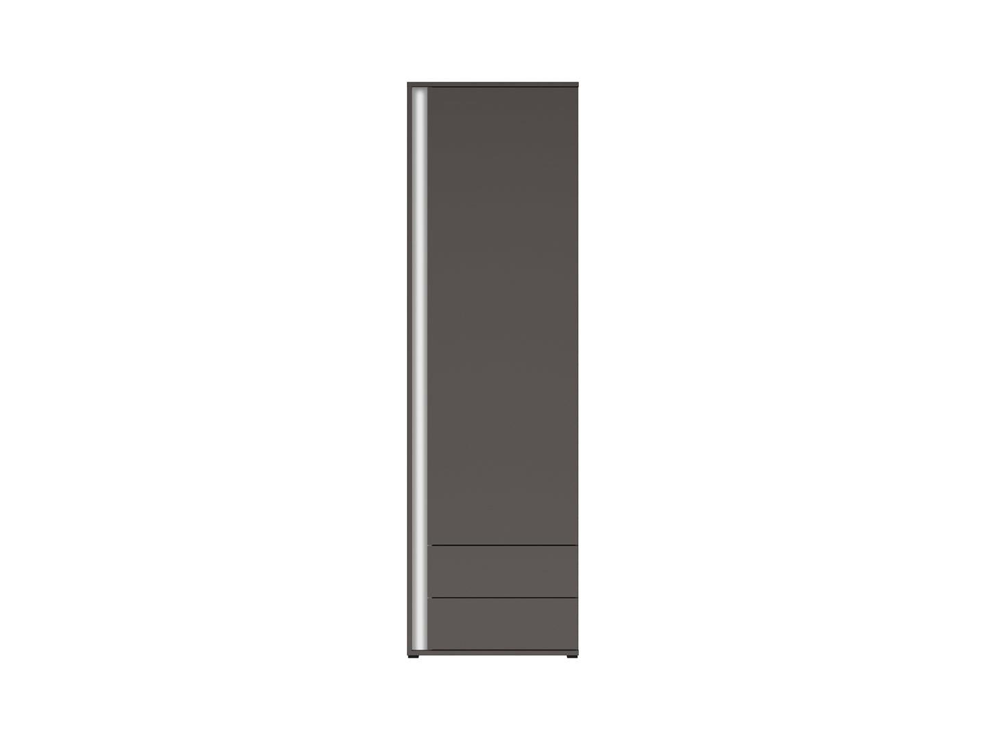 Skriňa GRAPHIC REG1DSP/C sivý wolfram