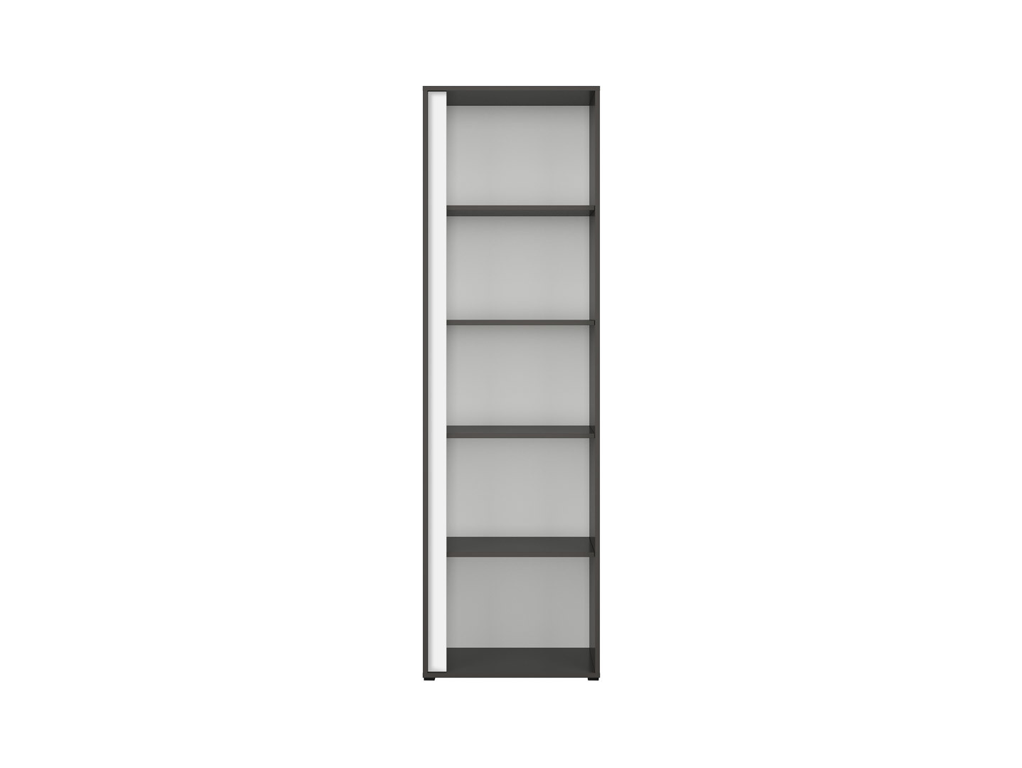 Regál GRAPHIC REG/57P sivý wolfram