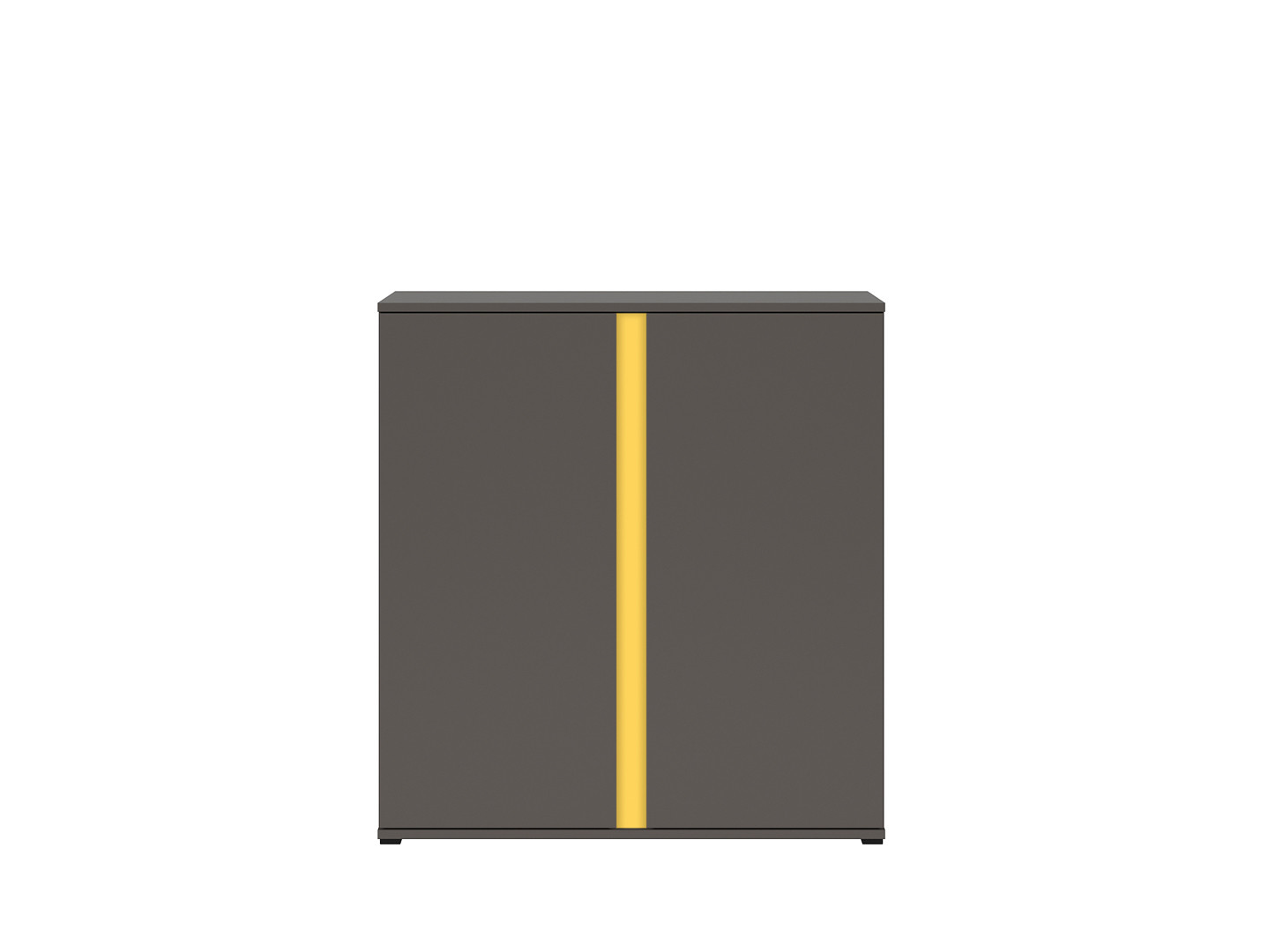 Skrinka GRAPHIC KOM2D/C sivý wolfram