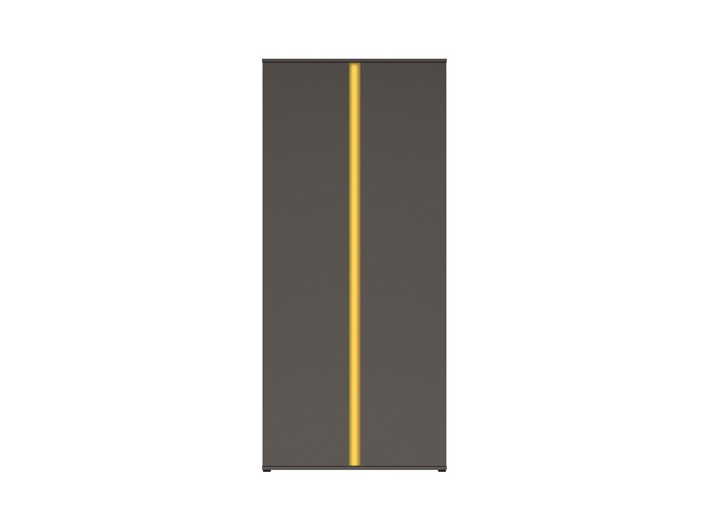 Skriňa GRAPHIC SZF2D/C sivý wolfram