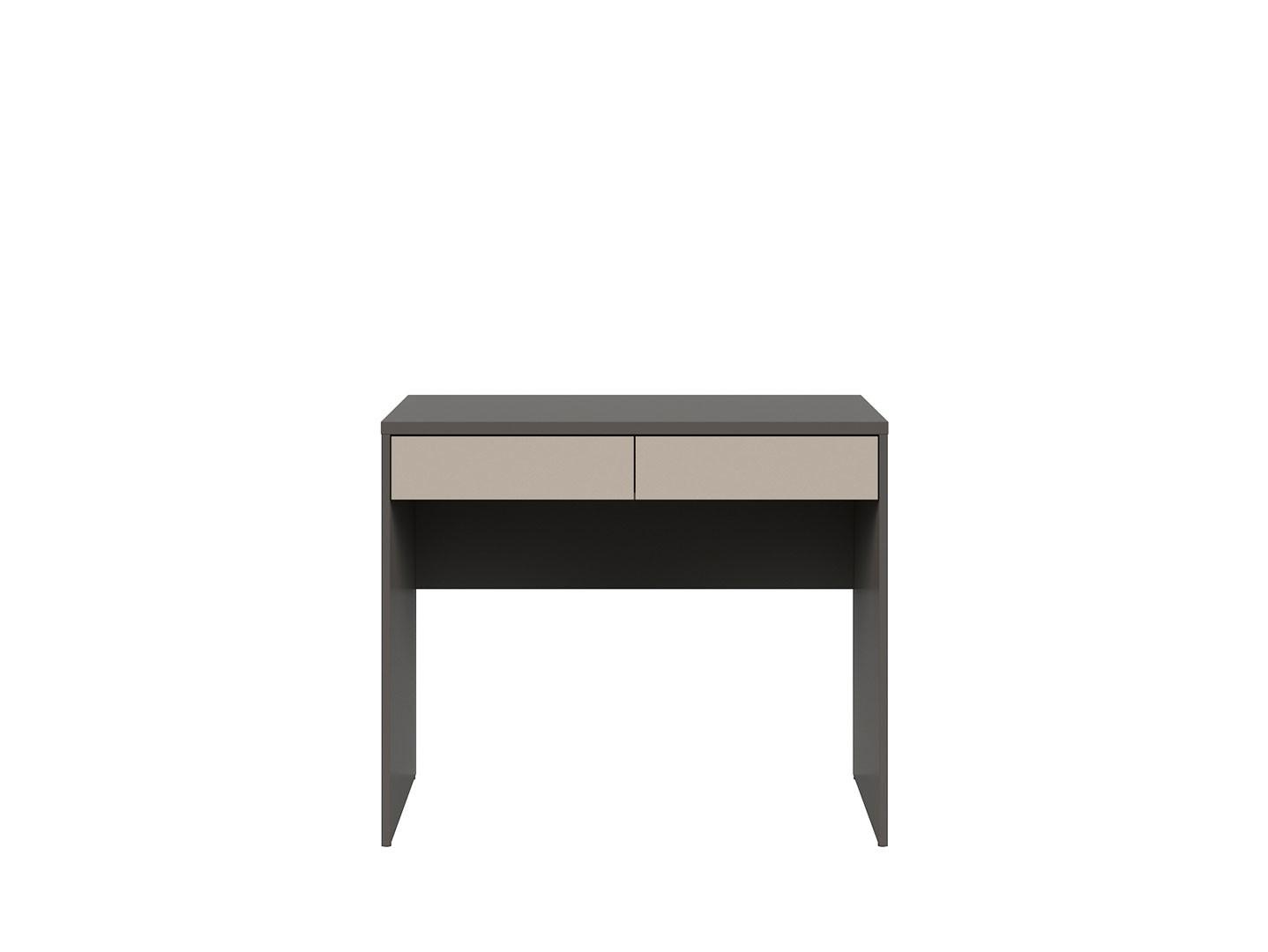 Kancelársky stôlGRAPHIC BIU2S/A sivý wolfram/popiel