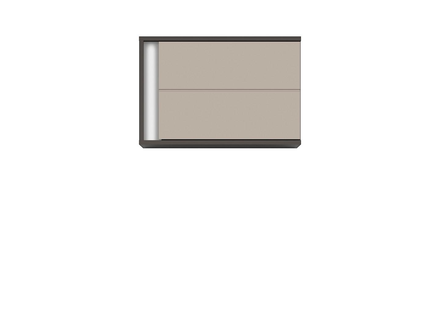 Závesná skrinka GRAPHIC SFW1DP/A sivý wolfram/popiel
