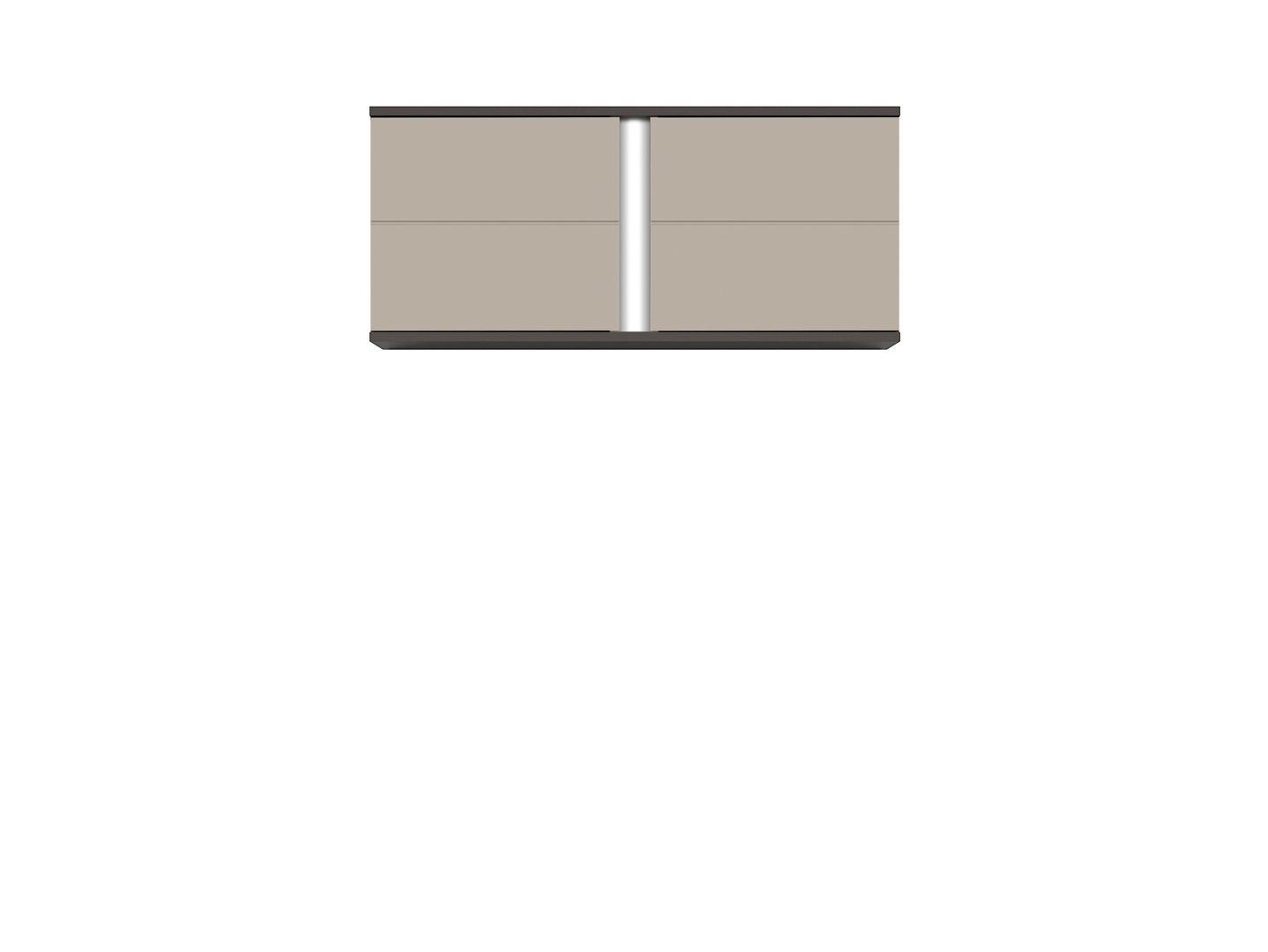Skrinka GRAPHIC SFW2D/86/38/A sivý wolfram/popiel