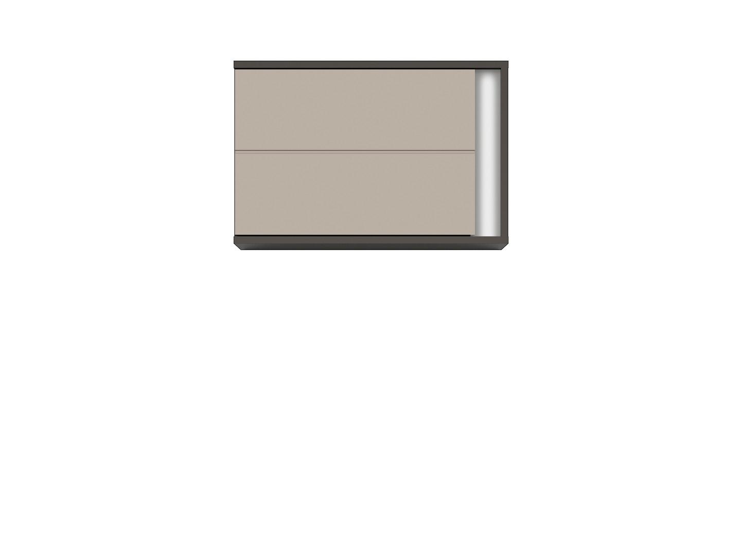 Závesná skrinka GRAPHIC SFW1DL/A sivý wolfram/popiel