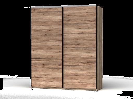 Šatníková skriňa Colin 183 cm dub san remo
