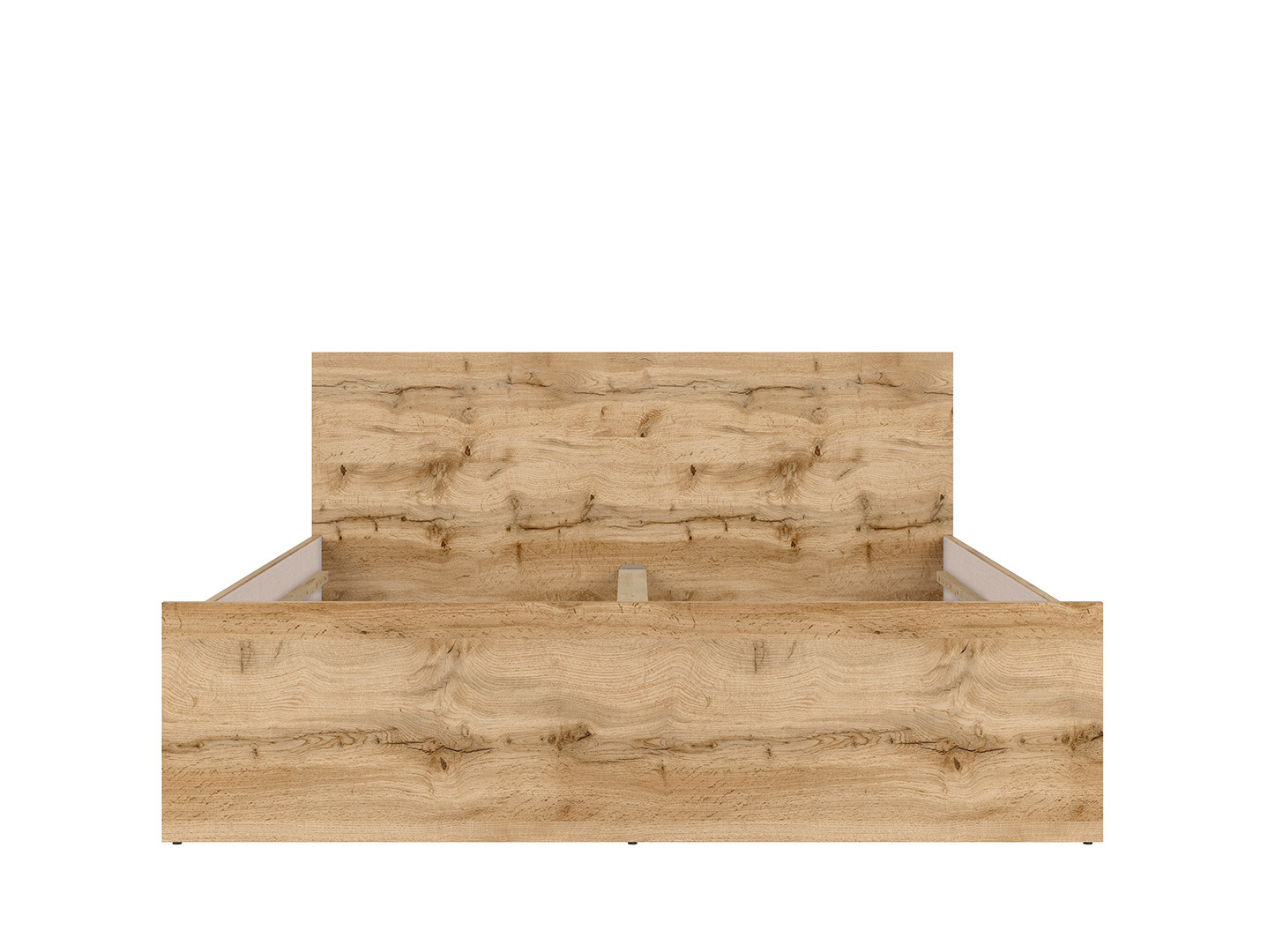 Manželská posteľ MATOS LOZ/160 dub wotan