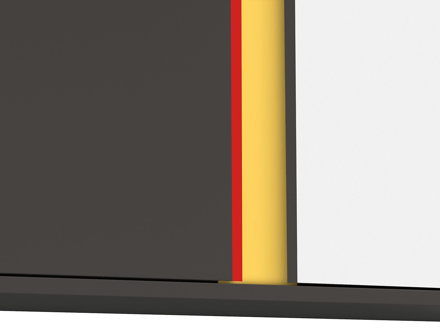 SkrinkaGRAPHIC SFW2D/86/38/B sivý wolfram/sivý wolfram/biely