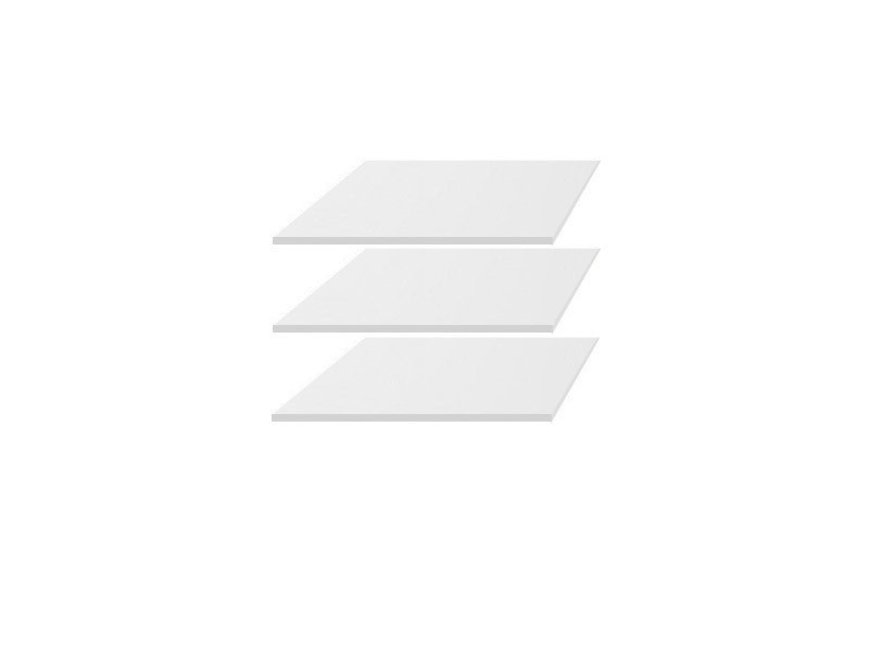 Police do skrine KIOTO SZF2D1S (3ks) biely