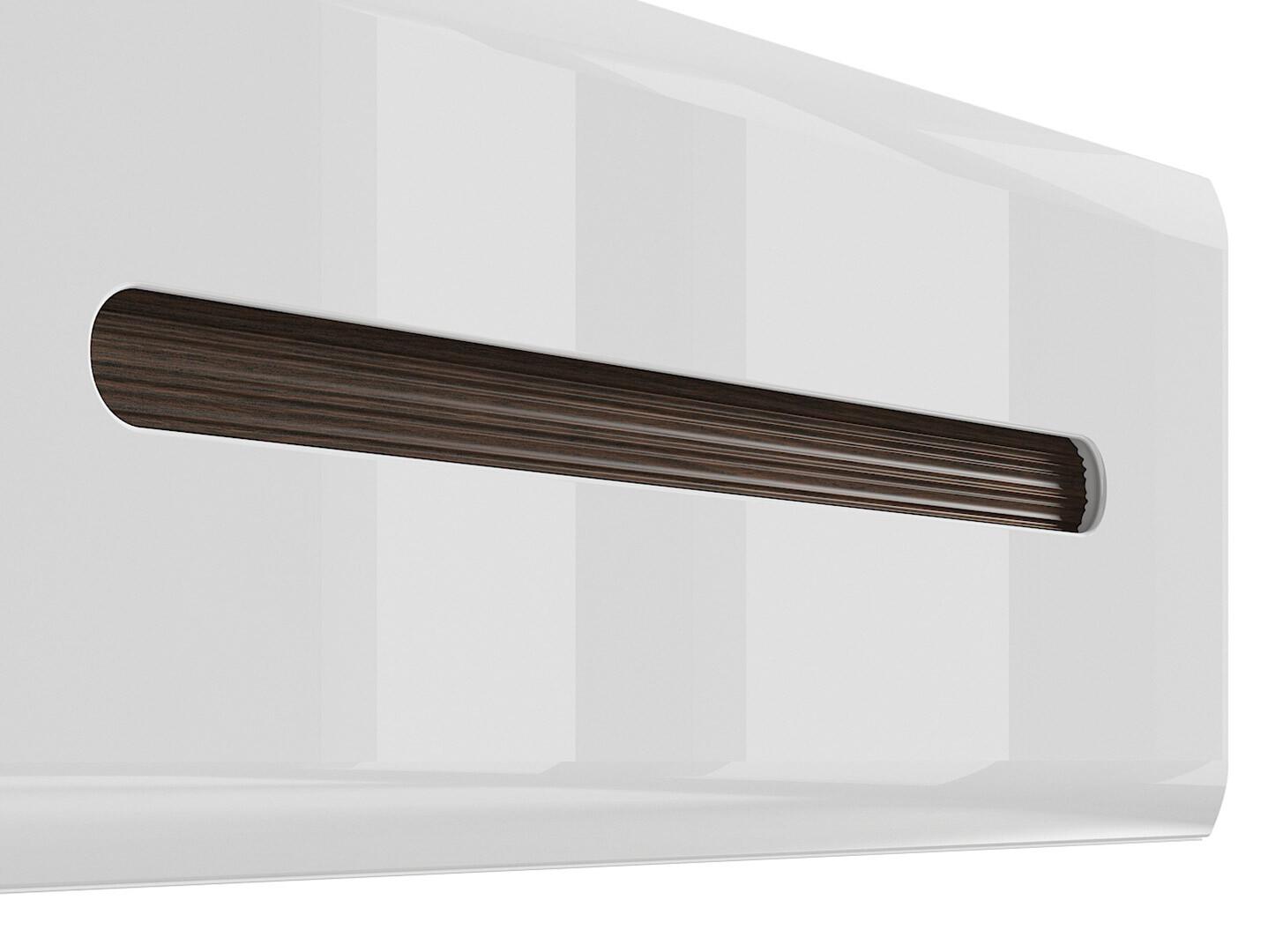 Závesná skrinka AZTECA TRIO SFW1K/4/11 biela/biely lesk