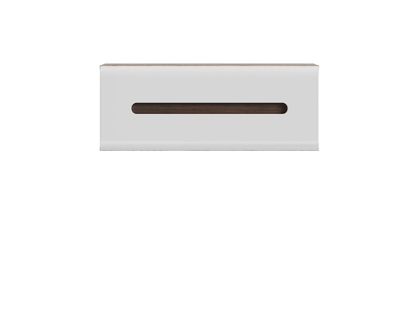Závesná skrinka AZTECA TRIO SFW1K/4/11 dub San Remo/biely lesk