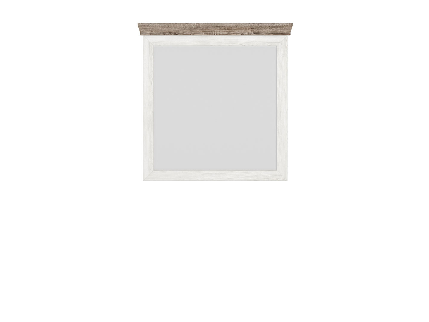 Zrkadlo MARSELLE LUS/98 jaseň snežný/ dub sonoma tmavý