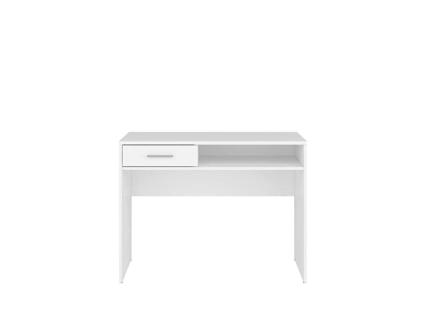 Písací stolík NEPO PLUS BIU1S biely