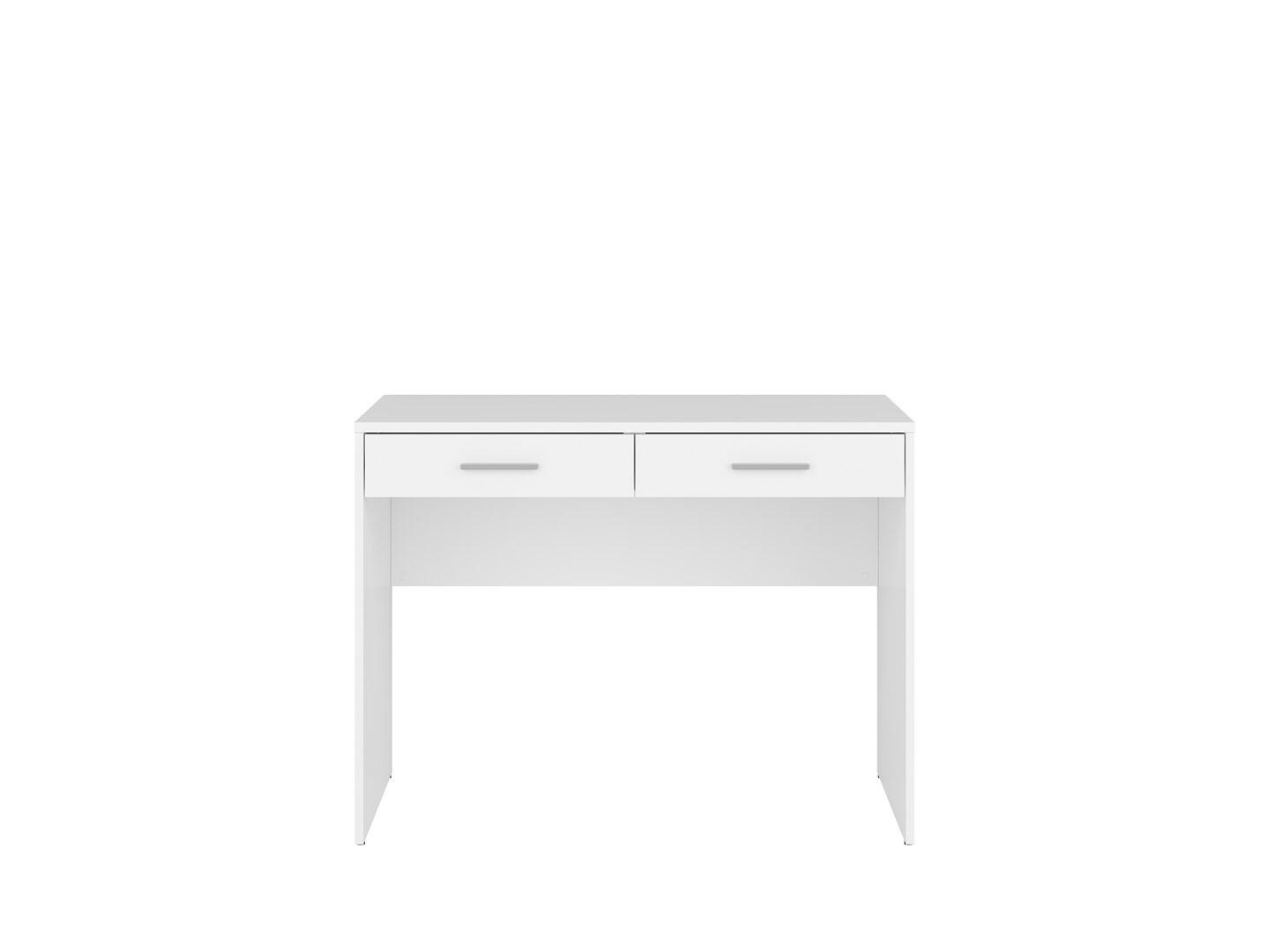Písací stolík NEPO PLUS BIU2S biely