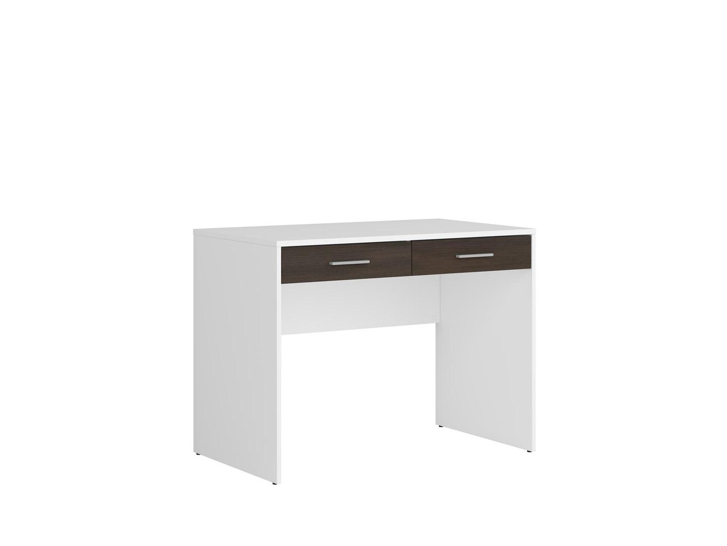 Písací stolík NEPO PLUS BIU2S biela/wenge