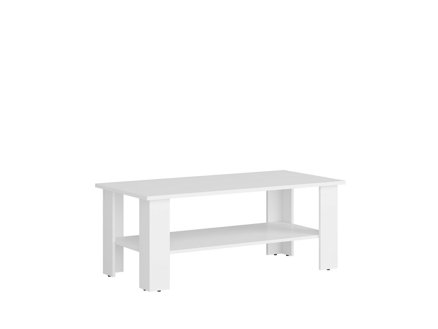 Konferenčný stolík NEPO PLUS LAW/115 biely