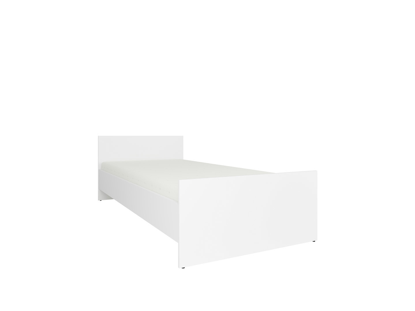 Posteľ NEPO PLUS LOZ/90 biely