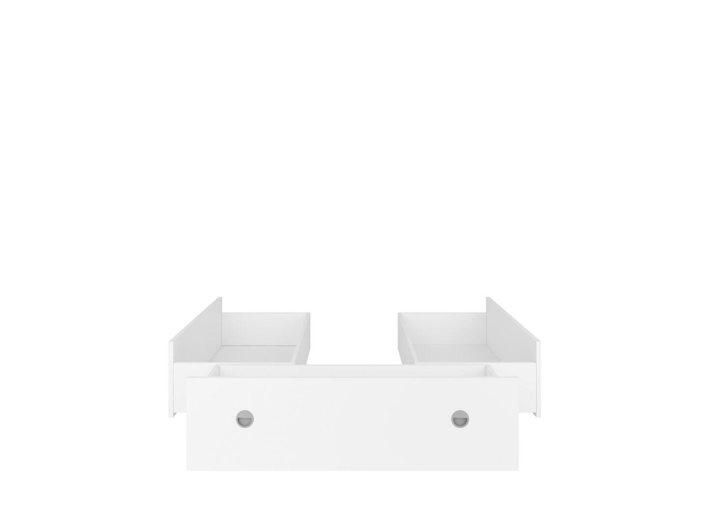 Zásuvky k posteli NEPO PLUS LOZ3S biely