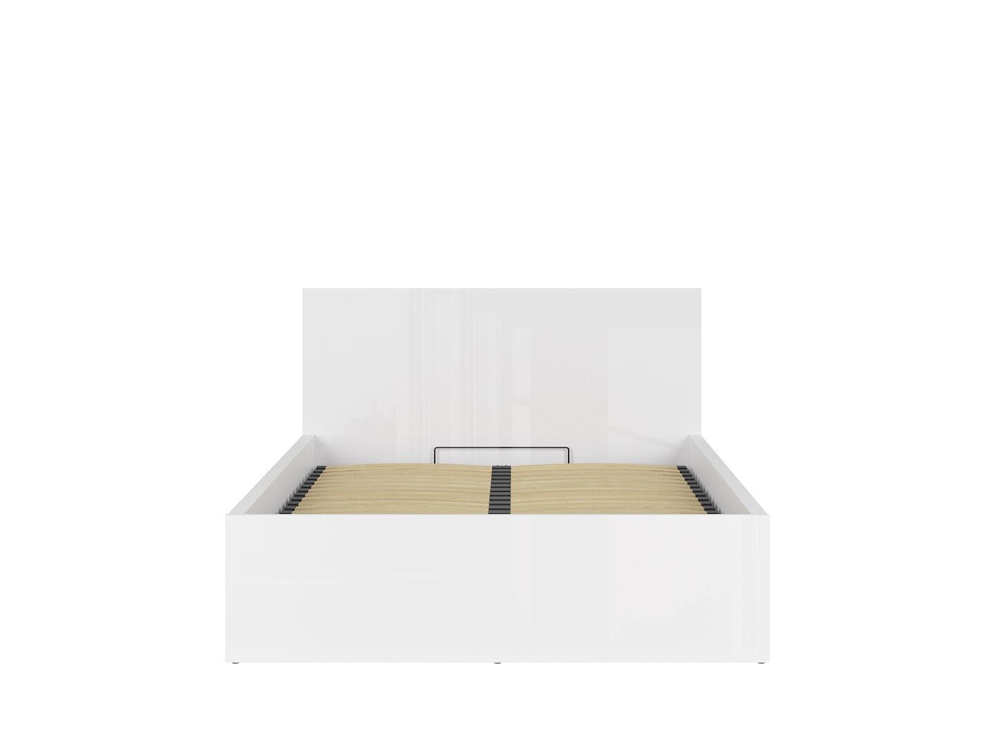 Posteľ TETRIX LOZ/140/B biely lesk