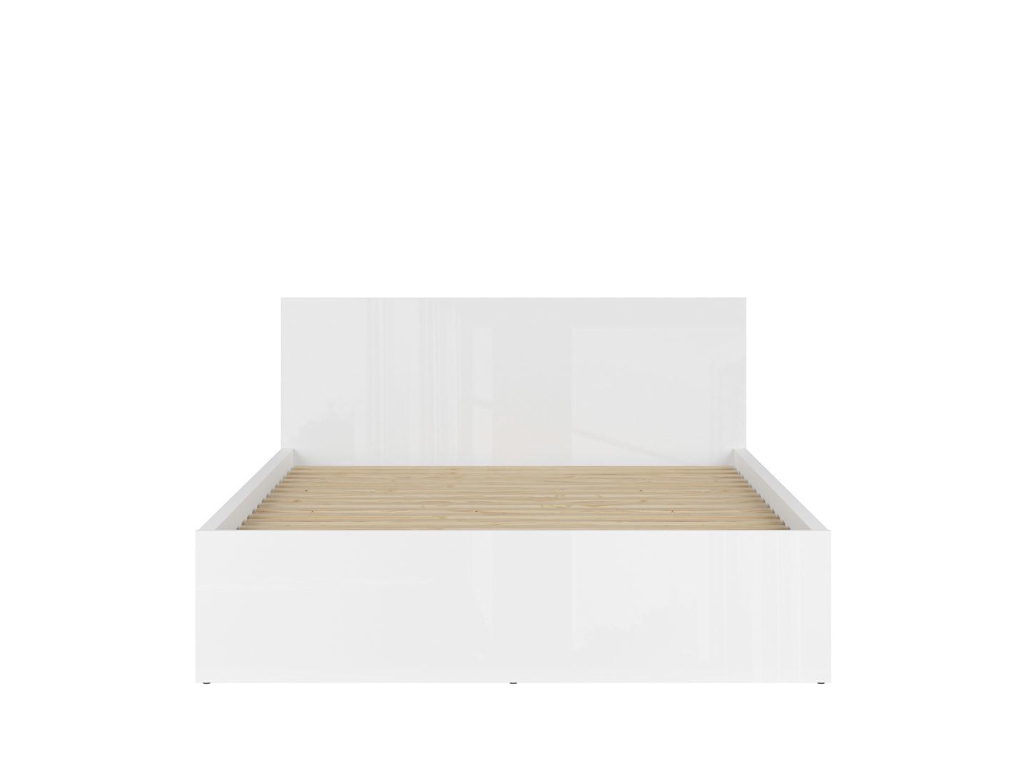 Posteľ TETRIX LOZ/160/A biely lesk
