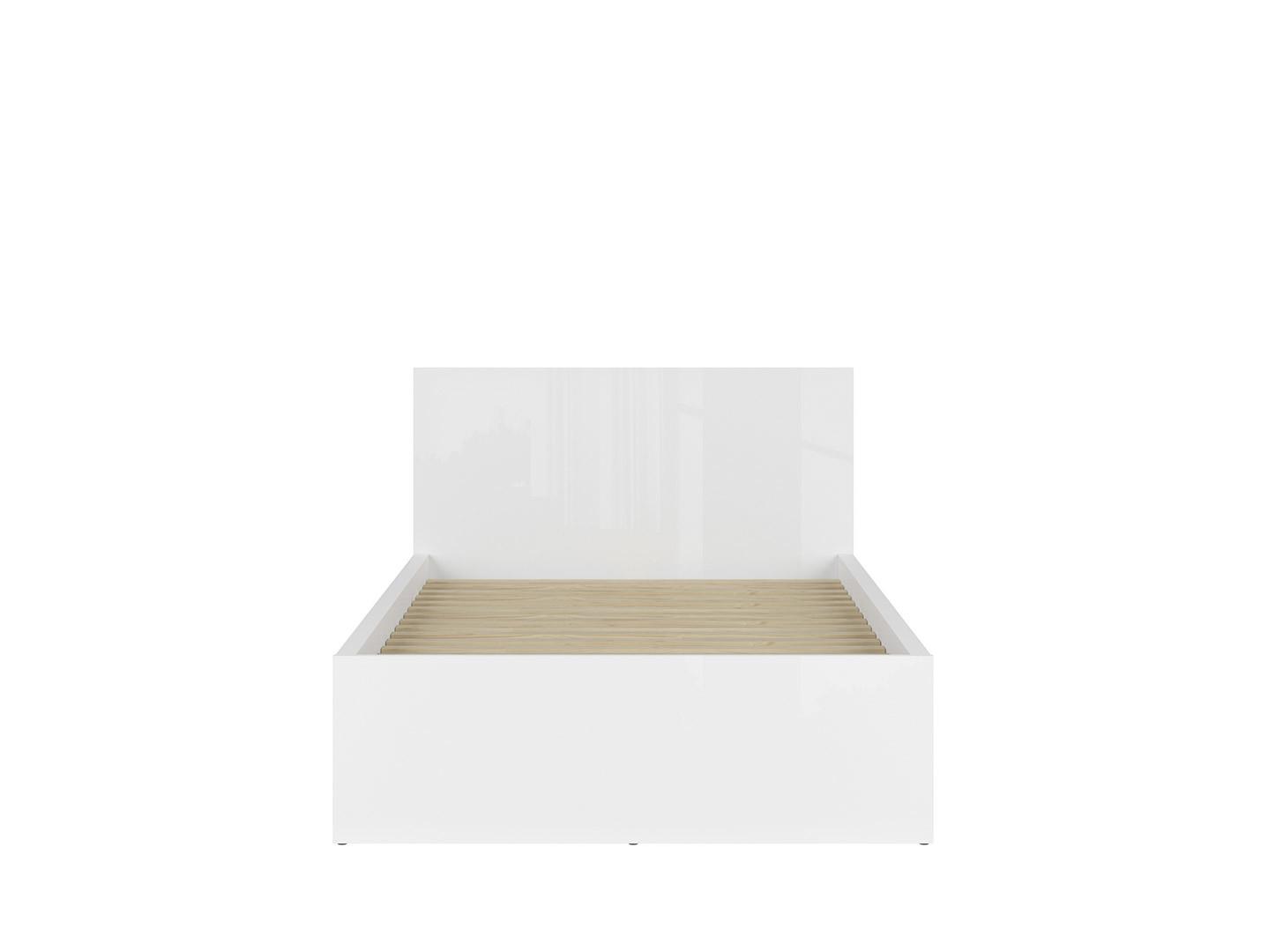 Posteľ TETRIX LOZ/120/A biely lesk