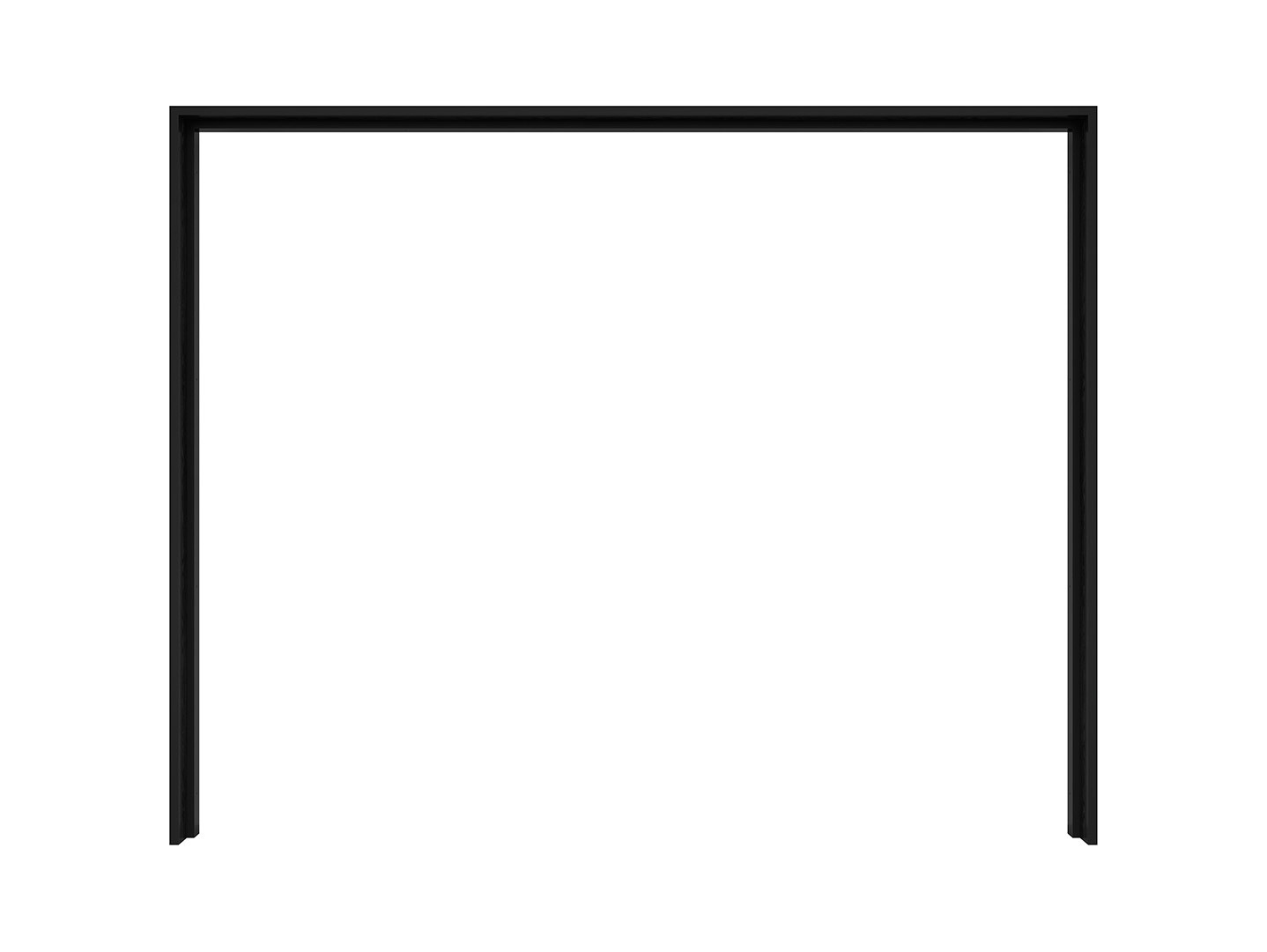 Rám skrine KASSEL PST/270/218 dub čierny